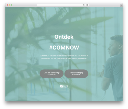 Salient WordPress theme - comnow.nl