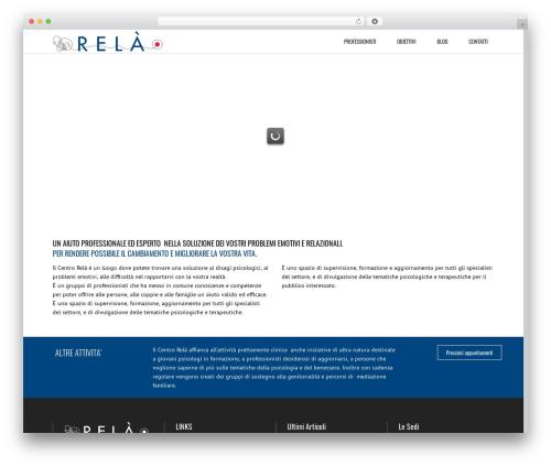 Subway WordPress theme - centrorela-roma.it
