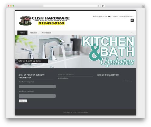 Template WordPress DiscoveryPro - clishhardware.com