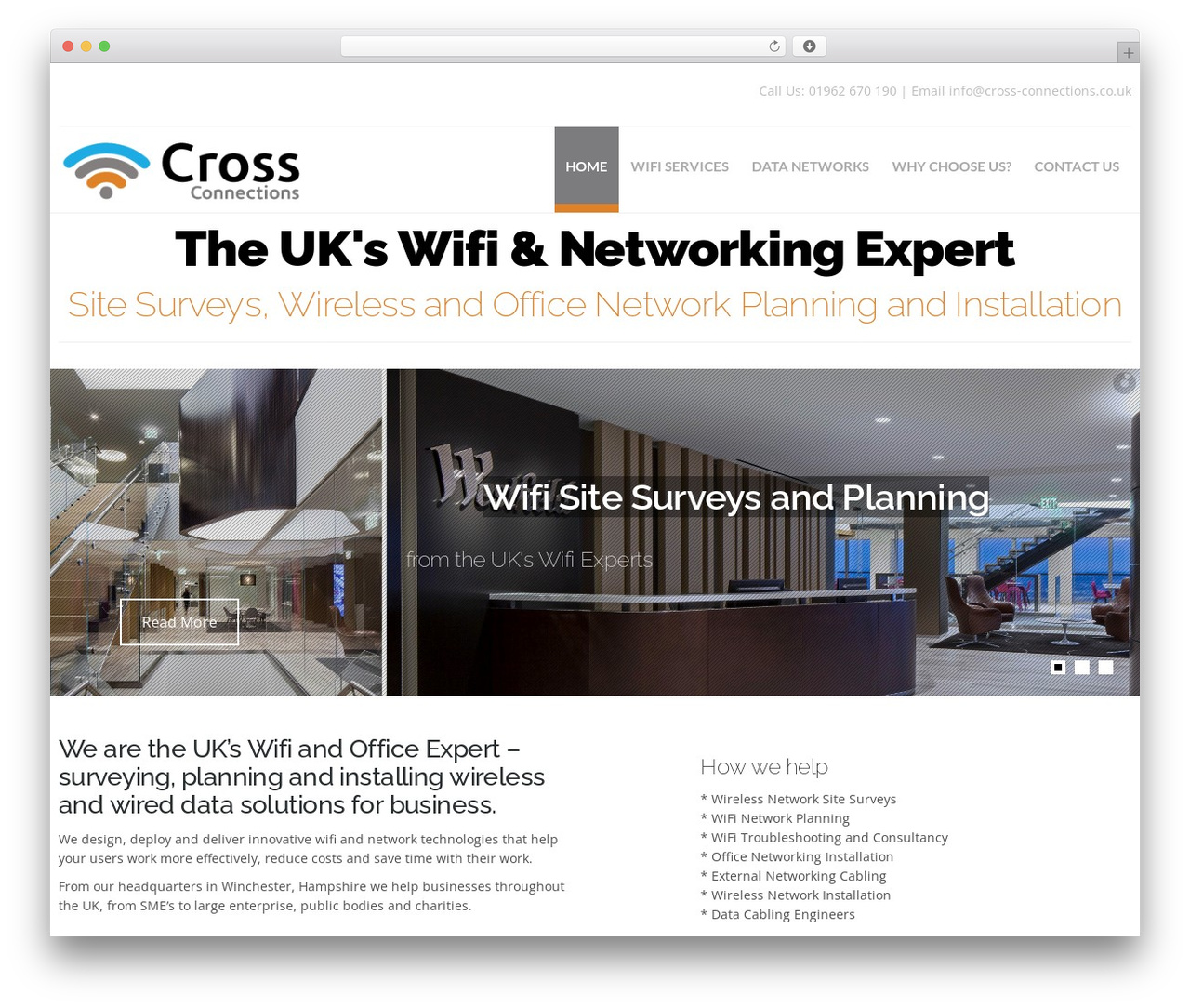 Theme WordPress Hercules - cross-connections.co.uk
