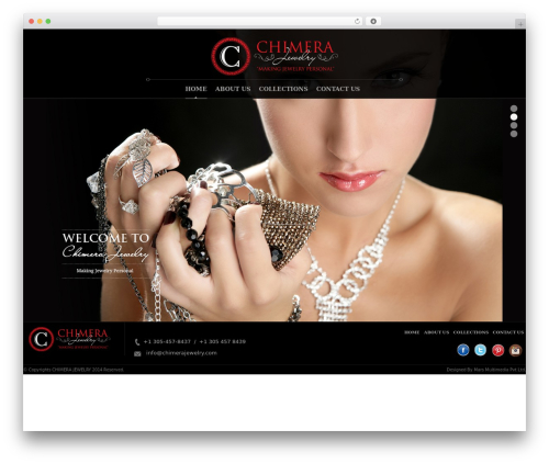 WordPress theme Chimera - chimerajewelry.com