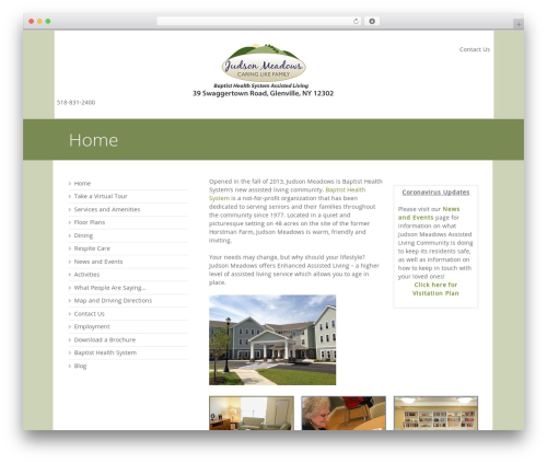 3clicks Theme WordPress theme - judsonmeadowsassistedliving.com