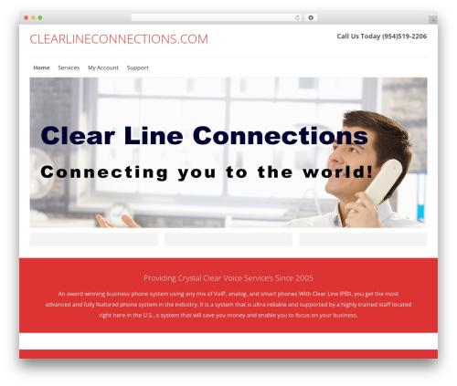 Best WordPress theme SmartShop - clearlineconnections.com