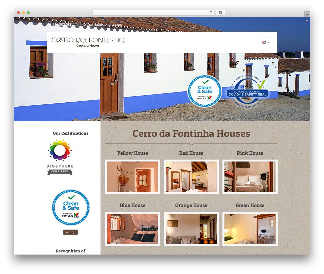 Betheme best WordPress theme - cerrodafontinha.com