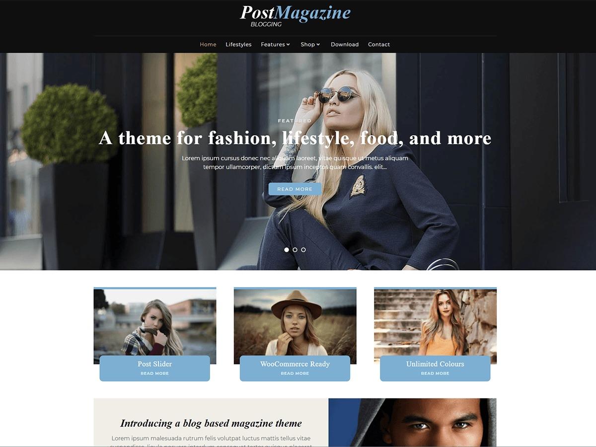 PostMagazine WordPress news theme