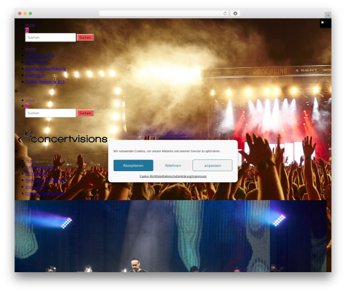 Free WordPress WP Mega Menu plugin - concertvisions.net
