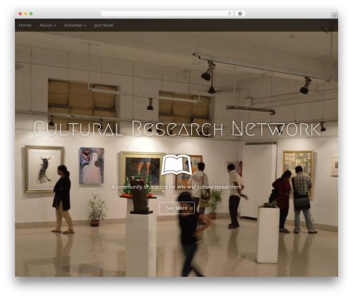 Arcade Basic free website theme - culturalresearchnetwork.org