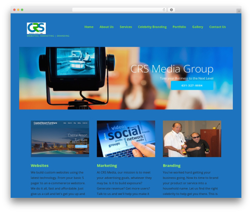 Ascension WordPress page template - crsmediagroup.com