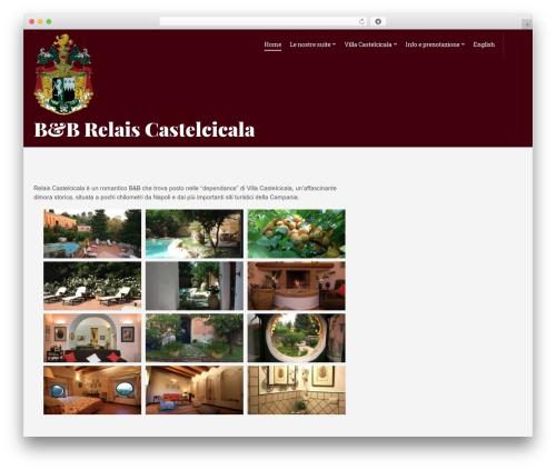 Best WordPress theme Olympus Inn - castelcicala.com
