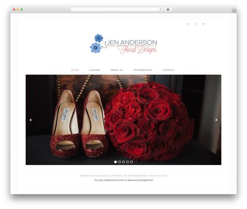 Bloom Theme template WordPress - jenandersondesigns.com