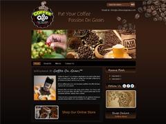 Coffee On Gears WordPress template