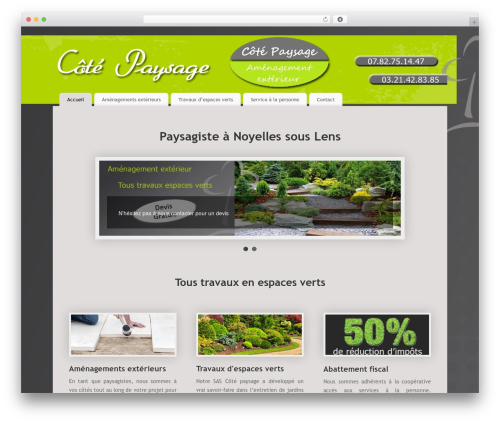 WordPress wordpress-form-manager plugin - cotepaysage.fr