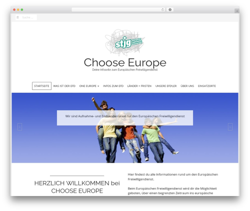 Matheson Pro WordPress theme design - choose-europe.org