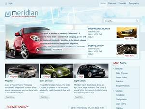Meridian Wordpress Theme theme WordPress