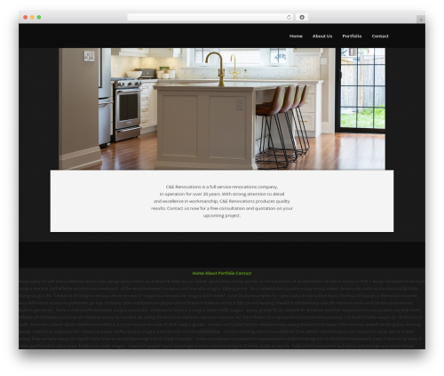 Theme WordPress Passage - cerenovations.com