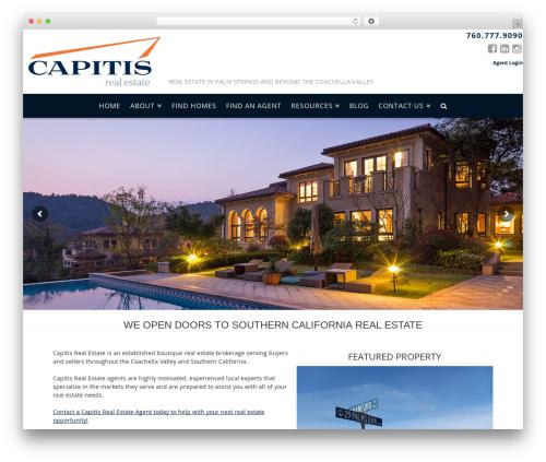 X real estate template WordPress - capitisrealestate.com