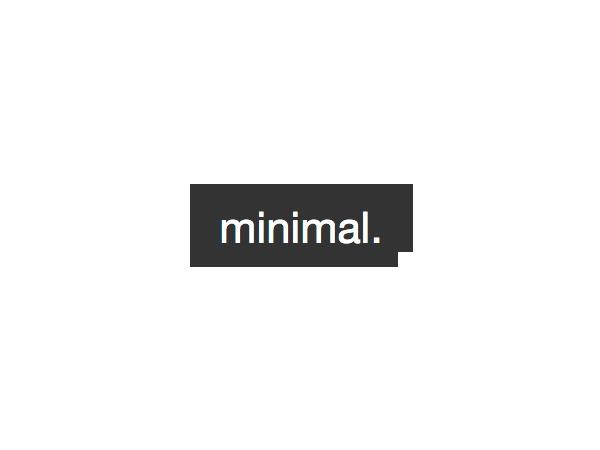 Best WordPress template Minimal 2.0