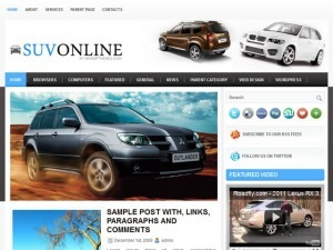 Best WordPress theme SuvOnline