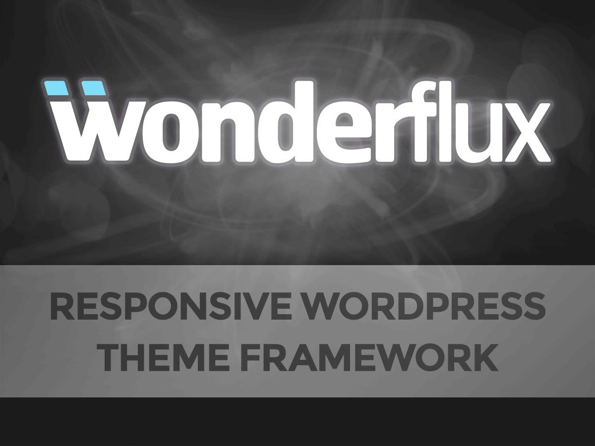 Best WordPress theme Wonderflux