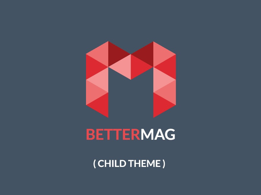 BetterMag Child Theme WordPress theme