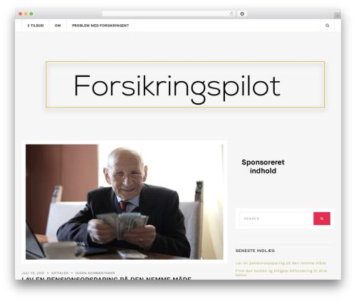 Brittany Light WordPress theme download - forsikringspilot.dk