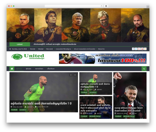 Eggnews best free WordPress theme - unitedcontinentalmerger.com