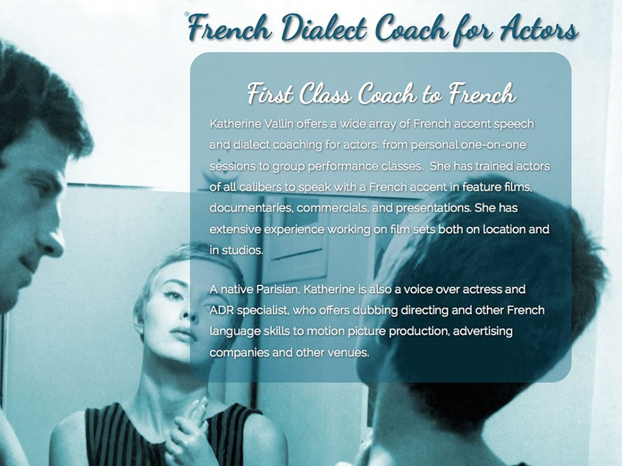 French Accent Coach best WordPress theme