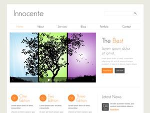 Innocente personal WordPress theme