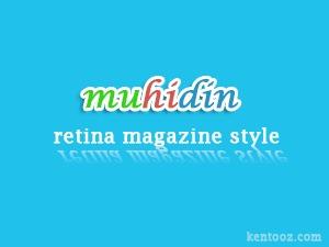 muhidin WordPress website template
