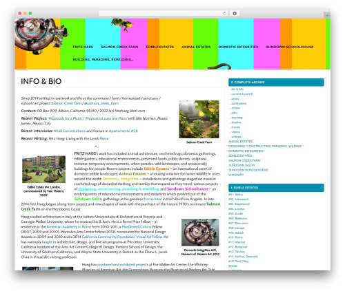 MyWiki free WP theme - fritzhaeg.com/wikidiary