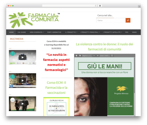 Free WordPress Meks Flexible Shortcodes plugin - farmaciadicomunita.it