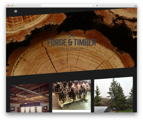 Oblique WordPress free download - forgeandtimber.com