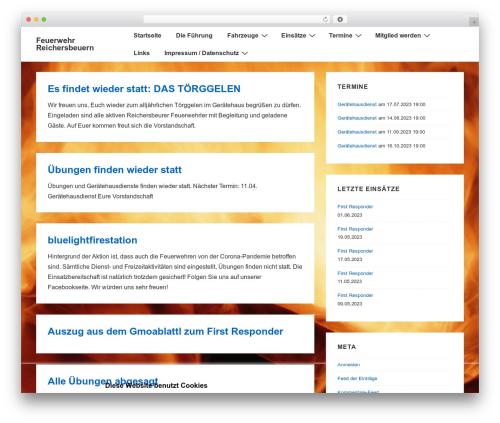 Responsive WordPress theme free download - ffw-reichersbeuern.de