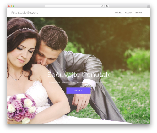 Shapely theme WordPress - fotodjuric.com