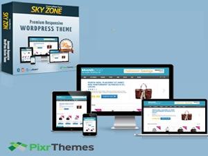SkyZon WordPress theme