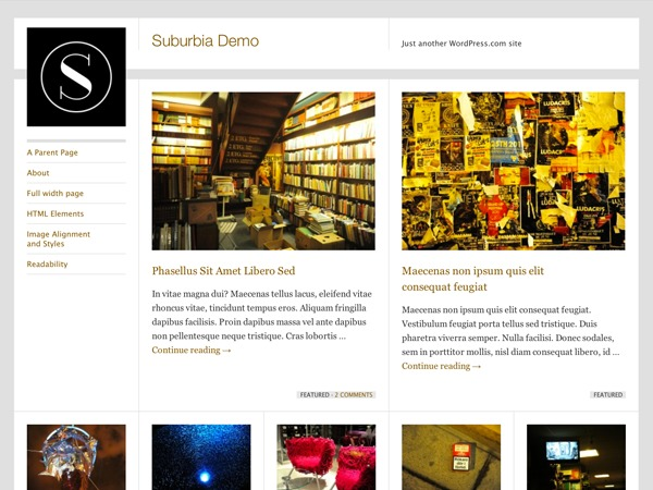 Suburbia - WordPress.com WordPress news template