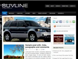 SuvLine best WordPress theme