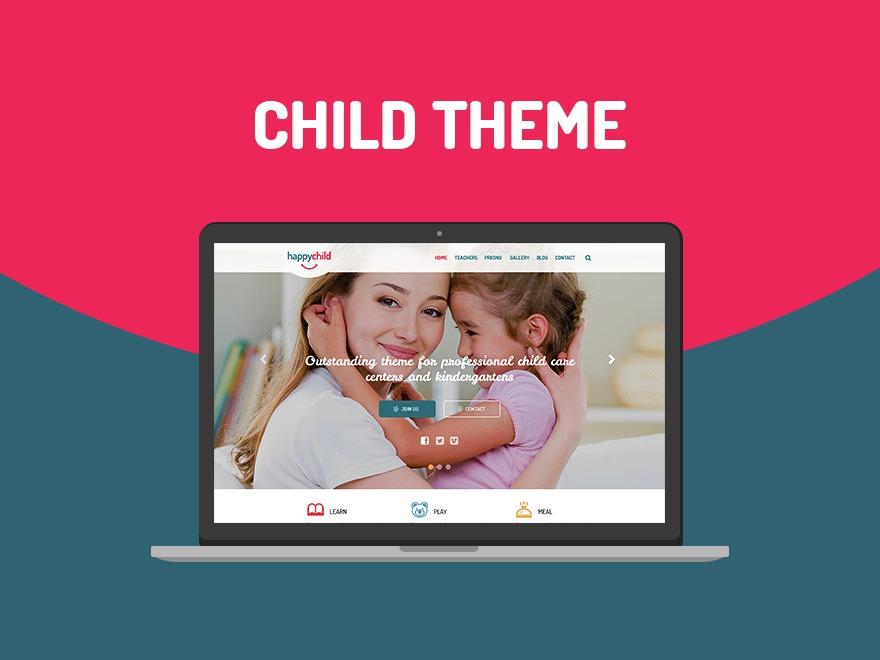 Theme WordPress Happy Child - Child Theme
