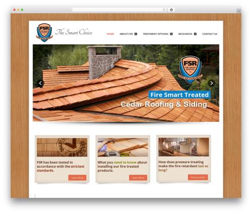 Theme WordPress Whisper - firesmartroofing.com