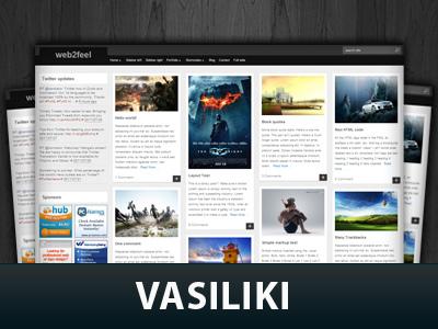 Vasiliki WordPress theme