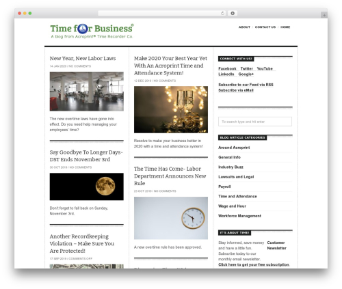 Free WordPress MimeTypes Link Icons plugin - timeforbusinessblog.com