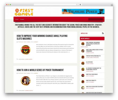 WordPress template Ebuy - firstgamble.com