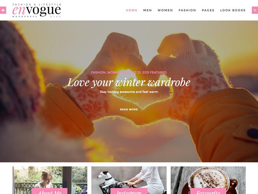 WordPress theme WP Envogue