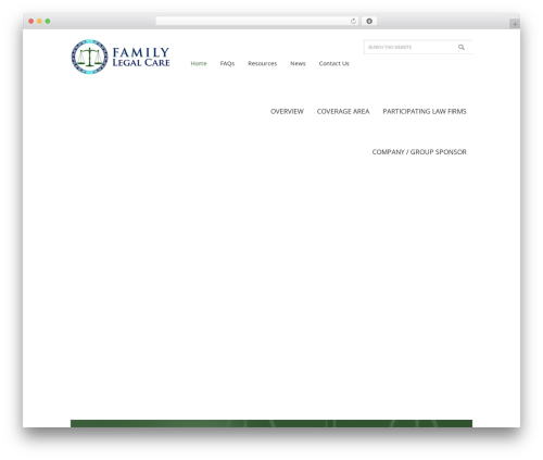 Free WordPress Advanced iFrame plugin - familylegalcare.com