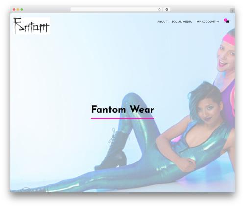 Zancudo premium WordPress theme - fantomwear.com