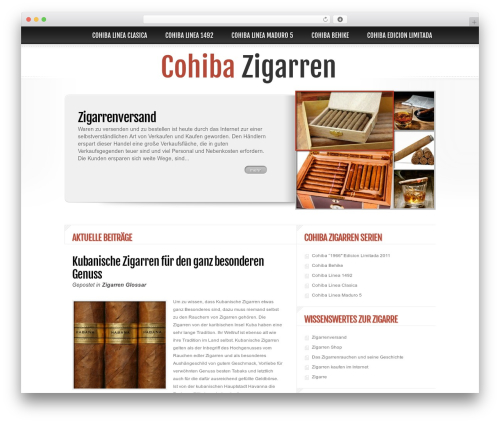 Delicate News best WordPress magazine theme - cohibazigarren.com