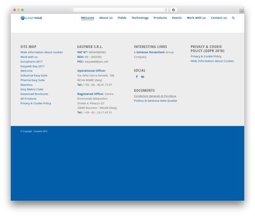 Enfold theme WordPress - easyweb.it