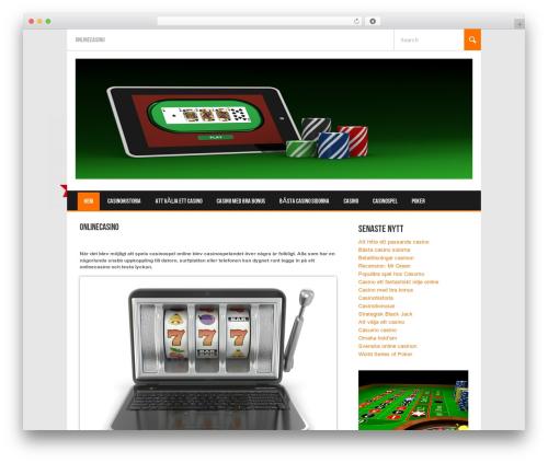 Koenda WordPress theme - casinowins.se