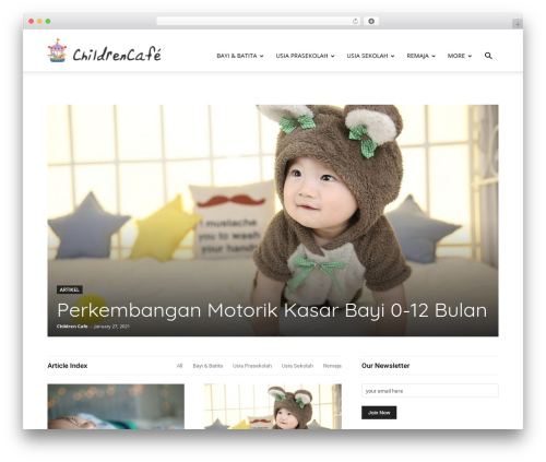 WordPress td-multi-purpose plugin - childrencafe.com