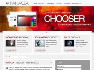 Panacea premium WordPress theme
